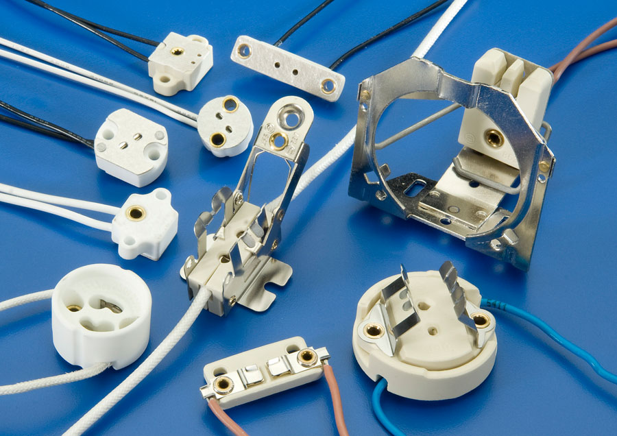 Halogen Lamp Holders And Socket Products