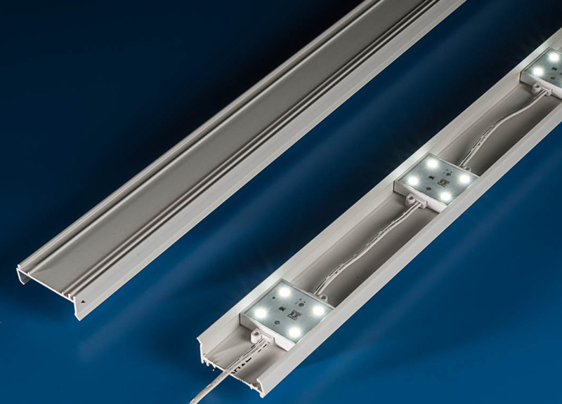 ILT LED Sign Retrofit Rail System