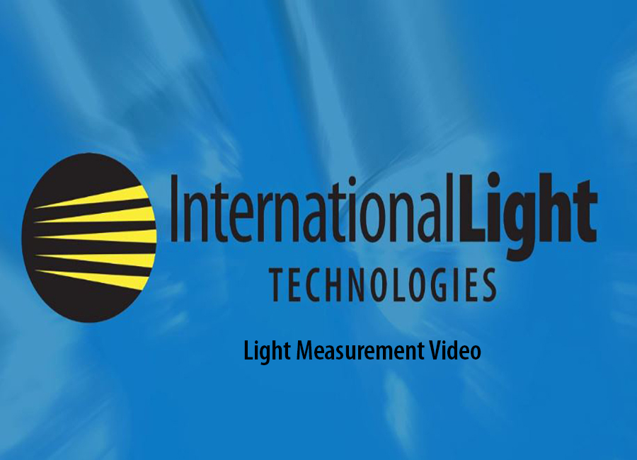 ILT Light Meter Selection Video