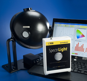 ILT950 Spectroradiometer with Integrating Sphere