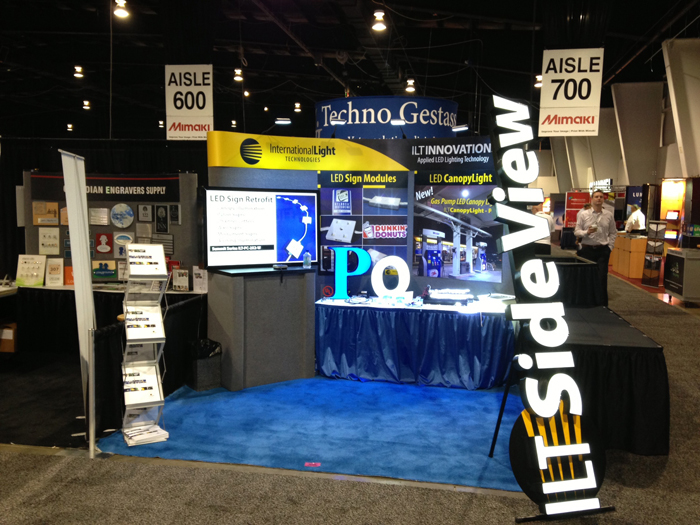ILT exhibiting at Sign Association of Canada 2013
