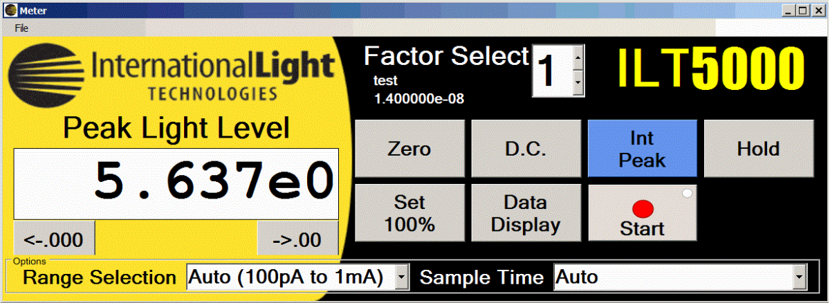 ILT5000-peak-light-level-screen