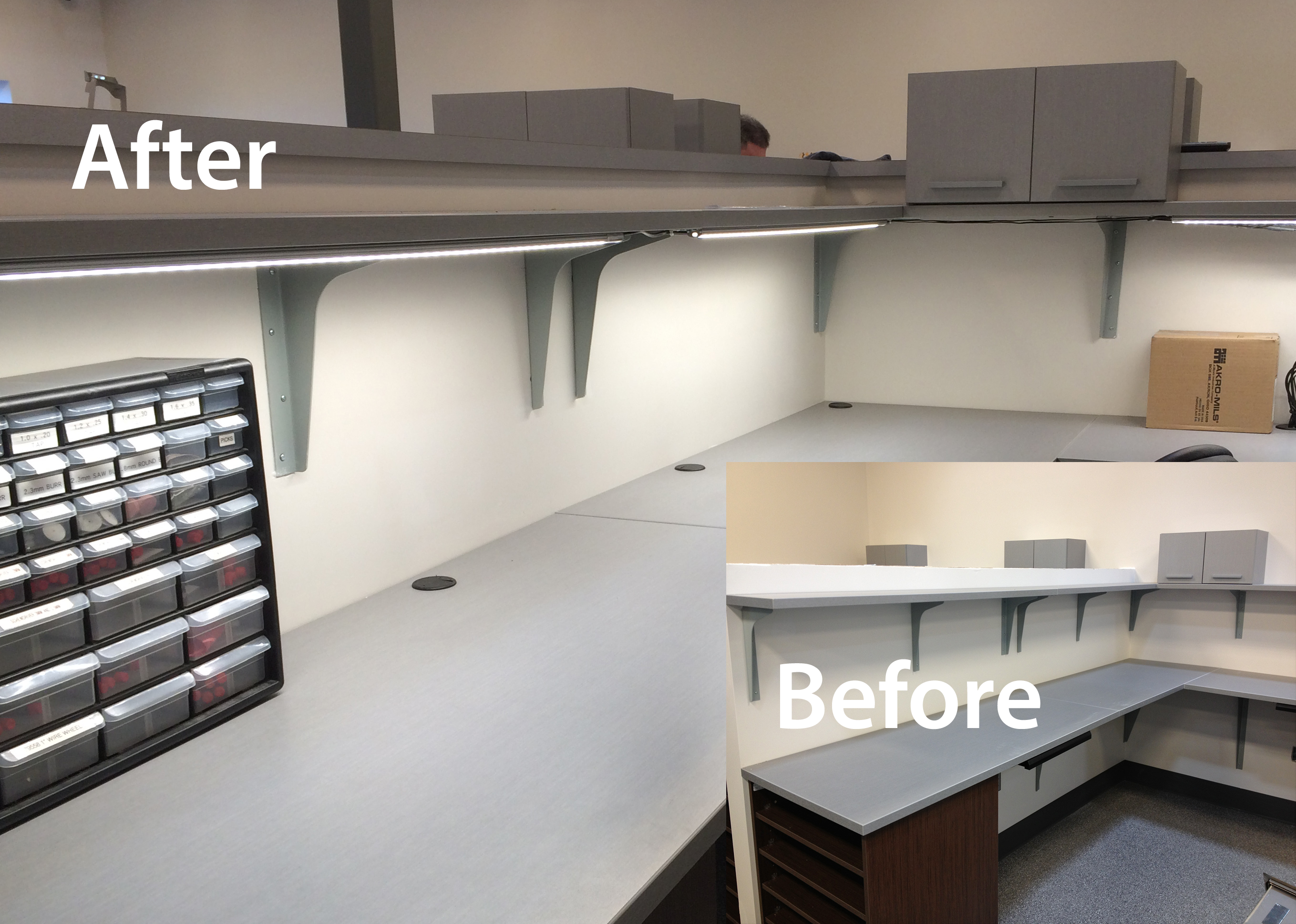 Workstation Lighting Intended Unparalleled Customer Support Workstation Custom Led Lighting Retrofit Solution