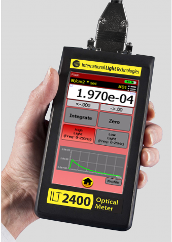 ILT2500 UV Flash Meter for Xenon Pulsed UV Sources