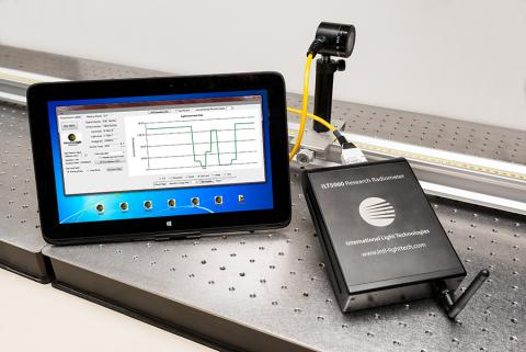 ILT5000 Bench-top research attenuated thermopile measurement system