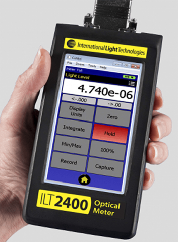 ILT2400 Hand-held UV curing light measurement system