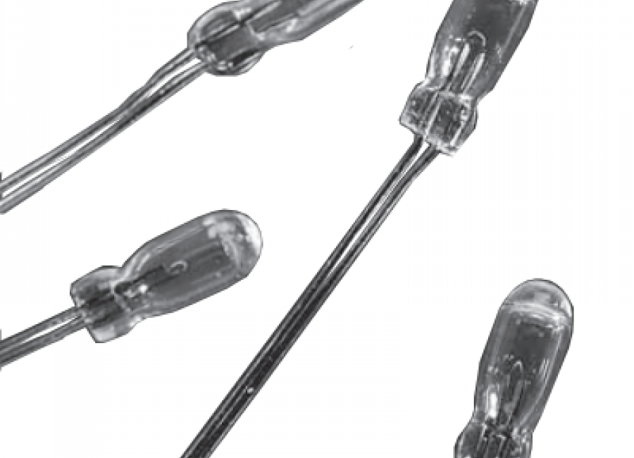 2235 T-1 ¼ wire lead bulb
